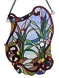 'Fine Art Beleuchtung Tiffany Fenster Panel, 18von 24, 185Glas Schnitte,