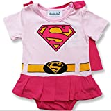 Traje infantil inspirado en Supergirl. 12-18 Meses
