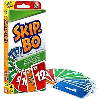 Skip-Bo Jeu de Société et de Cartes