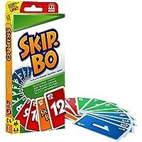 Mattel-52370-0-Skip-Bo-Kartenspiel-Mattel-W2087-Uno-Kartenspiel Mattel 52370-0 – Skip-Bo, Kartenspiel + Mattel W2087 – Uno, Kartenspiel -