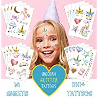Sovereign-Gear Unicorn Temporary Tattoos for Kids