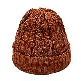 NPRADLA 2018 Mode Kappe Damen Winter Warm Herren Einfarbig Gestrickte Headwear Beanie Schwanz...