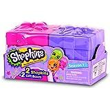 Shopkins - Pack de 2 cajitas sorpresa, 7 x 4 cm (Giochi Preziosi HPK81010)