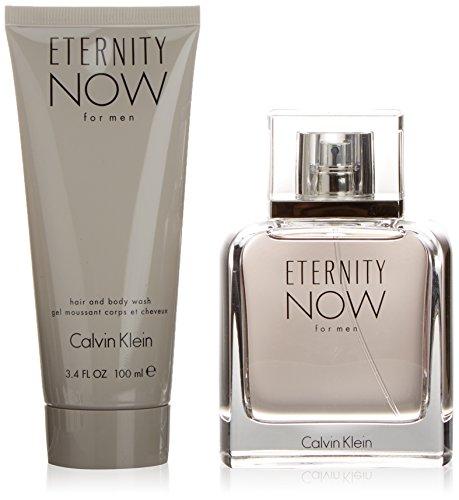 Calvin Klein Eternity Now Him Geschenkset für Ihn (EdT Spray 100ml + Duschgel 100ml) - Eternity For Men After Shave