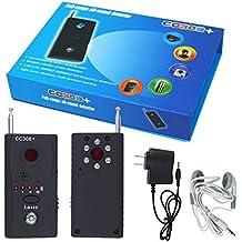 VINGO CC308+ Wanzen Finder GSM GPS Detektor RF Tracker für Überwachung kabellosen Geräten Aufspürgerät Kamera spy cam Funk Signal Laser Lens
