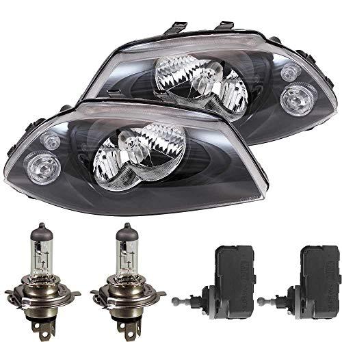 Scheinwerfer Set für Ibiza III 3 6L inkl. PHILIPS Lampen Motor