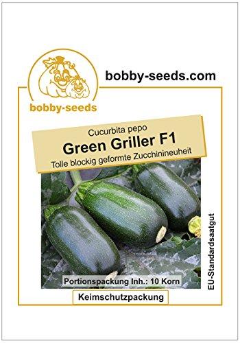 Bobby-Seeds Kürbissamen Green Griller F1 Portion