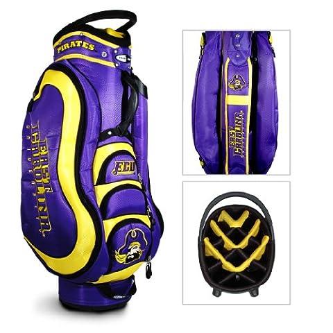 NCAA East Carolina Pirates Medalist Golf Cart Bag