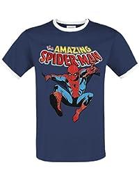 Spider-Man Amazing Spider-Man T-shirt bleu/blanc
