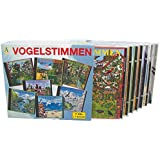 Serie VOGELSTIMMEN 7 CDs mit gesprochenen Erläuterungen: 1-Park, 2-Feld, 3-Wasser, 4-Wald, 5-Heide, 6-Meer, 7-Gebirge