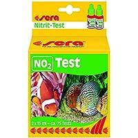 sera 04410 NO2-Test 15 ml - Nitrit Test für ca. 75 Messungen, misst zuverlässig und genau den Nitritgehalt, für Süß- & Meerwasser, im Aquarium oder Teich