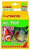 Sera 4410 NO2-Test 2x15 ml - Nitrit Test für ca. 75 Messungen, misst zuverlässig und genau den Nitritgehalt, für Süß- & Meerwasser, im Aquarium oder Teich