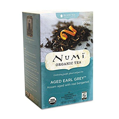 Organic Teas and Teasans, 1.27oz, Aged Earl Grey, 18/Box