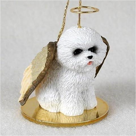 Bichon Frise Angel Dog Ornament by Conversation Concepts