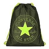 Converse Unisex Gym Cinch Bag Collard Bolt Green