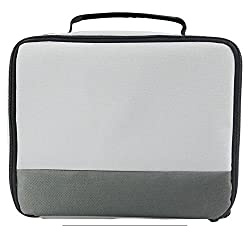 Canon Selphy Cp1200 Cp910 Case - Caiul Comprehensive Protection Carry Case For Canon Selphy Cp1200 Cp910 Cp900 Cp800 Portable Wireless Photo Printers (Grey Gradient)