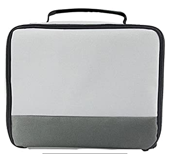 Canon Selphy Cp1200 Cp910 Case - Caiul Comprehensive Protection Carry Case For Canon Selphy Cp1200 Cp910 Cp900 Cp800 Portable Wireless Photo Printers (Grey Gradient) 0