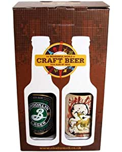 Craft Beers of the USA - 4 Bottle Presentation Pack