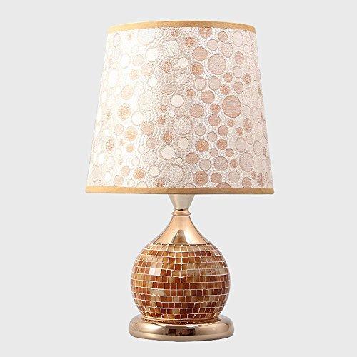L@YC Schlafzimmer Schreibtischlampe Bedside Kreative Dekoration Warm Nacht Licht Einfache moderne E27 Tischlampe , D