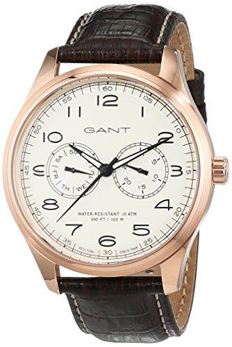 Gant Montauk Time Men's Quartz Watch with Day Date Analogue Quartz Leather W71603