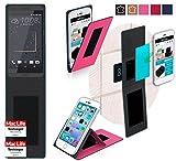 reboon Hülle für HTC Desire 630 Tasche Cover Case Bumper | Pink | Testsieger