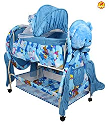 Baybee Hive Swing Baby Cradle (Blue)