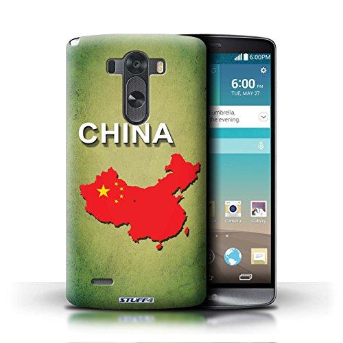 Kobalt® Imprimé Etui / Coque pour LG G3/D850/D855 / Chine/Chinois conception / Série Drapeau Pays Chine/Chinois