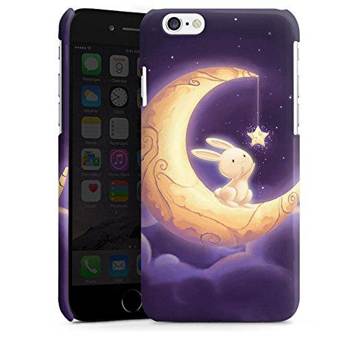 Apple iPhone 5s Housse Étui Protection Coque Levraut Lune Lune Cas Premium brillant