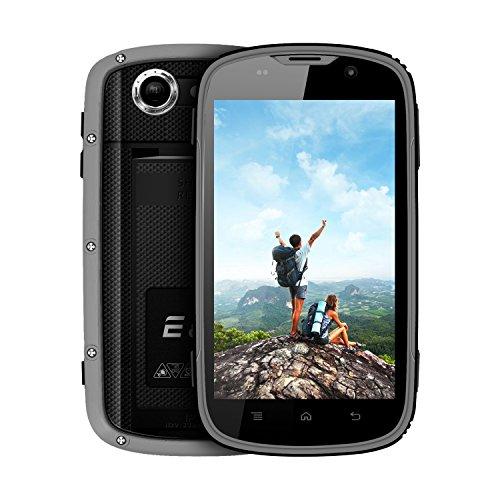 Teléfono Móvil Resistente, E&L W5S IP68 Smartphone Impermeable Antigolpes, 4.0 Pulgada 1GB RAM + 8GB ROM, Android 6.0...
