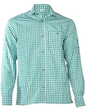 Trachtenhemd Manne grün