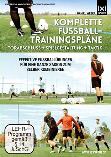 fussball dvd Komplette Fußball - Trainingspläne | Torabschluß + Spielgestaltung + Taktik