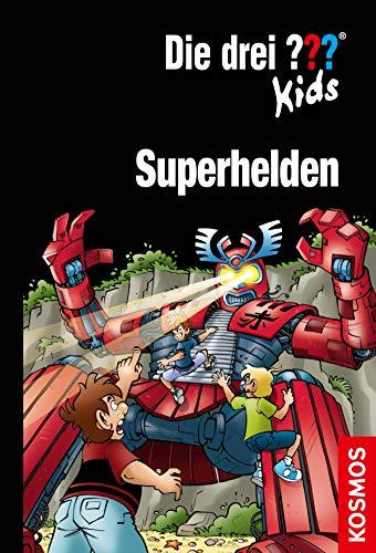 Die drei ??? Kids, Superhelden (drei Fragezeichen Kids): Doppelband + Kurzkrimi (German Edition)