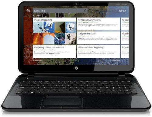 Foto HP Pavilion TouchSmart 15-B189SL Sleekbook, Processore Intel Core i5-3337U, 4 GB DDR3, HD Sata da 500 GB, Windows 8, Nero Brillante