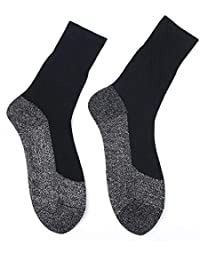 Valigrate 1 par de Calor a Mantener los pies calcetín Largo aluminizado Aislamiento de Fibra continuación