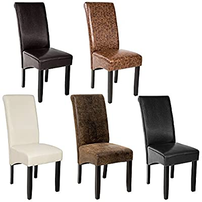 TecTake Luxury high quality dining chair 105cm -different colours- - inexpensive UK light shop.