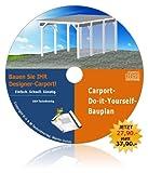 Produkt-Bild: Designer-Carport-Bauplan. Spitzen-Carport selber bauen!