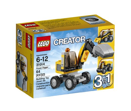 LEGO Creator 31014 Power Digger  available at amazon for Rs.1348