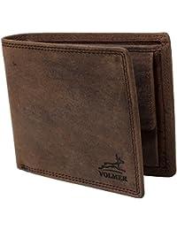 Schlanke Echtleder-Geldbörse besonders bequem einfach und extra stabil #Easycomfort