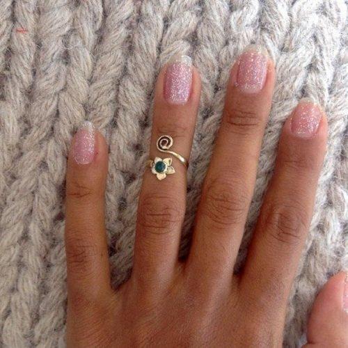 Anillo nudillo plata   anillo midi plata   anillo