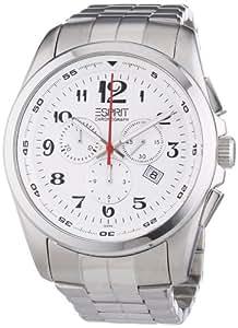 Esprit Herren-Armbanduhr XL Analog Edelstahl ES102201005