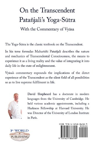 On the Transcendent: the Yoga-Sutra