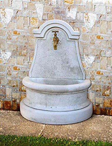 pompidu-living Wandbrunnen Luciana H 80 Farbe Terracotta