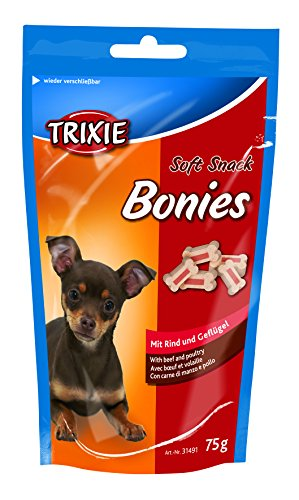 Soft Snack Bonies, 75 g, Ternera y Ave