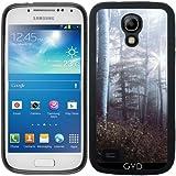 SilikonHülle für Samsung Galaxy S4 Mini (GT-I9195) - Waldbäume Fernweh Natur by Petra