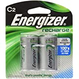 Energizer Rechargeable Batteries NiMH C 2500 MAH (Per 2)