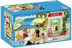 Playmobil - 5129 - Jeu de construction - Café du port