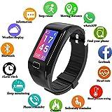 LIGE Fitness Tracker, Schermo a Colori Braccialetto Intelligente Cardiofrequenzimetr Monitoraggio...