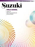 Suzuki Viola School Piano Accompaniment, Volume A (contains Volumes 1 & 2) (The Suzuki Method Core Materials)