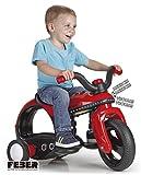 Feber 800011898 Motorrad Spielzeug, Mehrfarbig