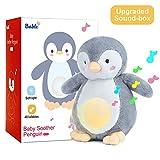 Bable Baby Geschenk, Baby Spielzeug Schlafhilfe Nachtlicht Beruhigende Sound-Maschine & Babyparty-Geschenk, Kuscheltier, Geschenke zur Geburt, Einschlafhilfe Babys (Gelb)